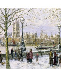 View of Westminster - Cards For Good Causes Charity Christmas Cards