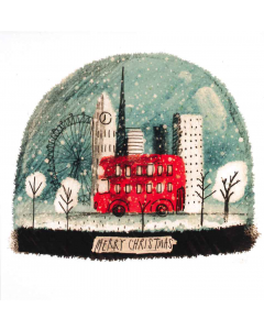 London Snow Globe - Cards For Good Causes Charity Christmas Cards