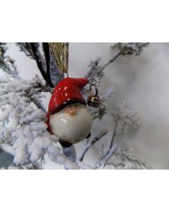 Santa with bell Tree Decoration