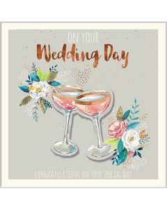 To the Happy Couple Single Card