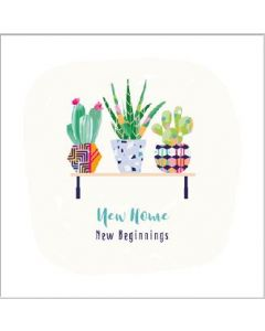 New Home New Beginnings Single Card