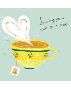 Hug in a Mug Single Card