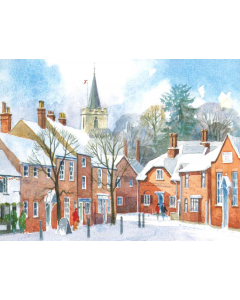 Chesham In The Snow - Charity Christmas Cards