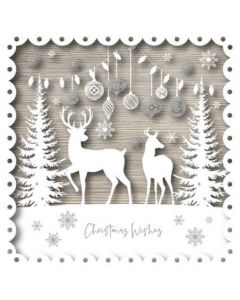 Christmas Deer - Cancer Research UK Charity Christmas Cards