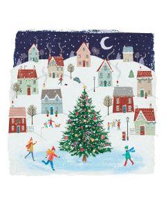 Christmas Village - Alzheimer's Society Charity Christmas Cards