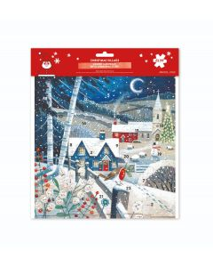 Christmas Village Square Calendar - Charity Christmas Gifts & Decorations