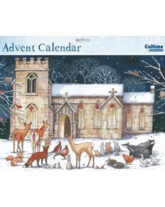 Church Advent Calendar (34 x 25cm) - Charity Christmas Gifts & Decorations