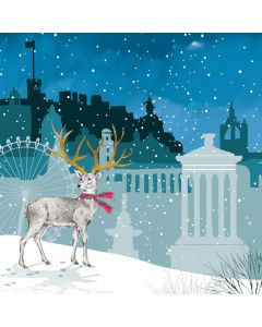 City Stag - Shelter Charity Christmas Cards