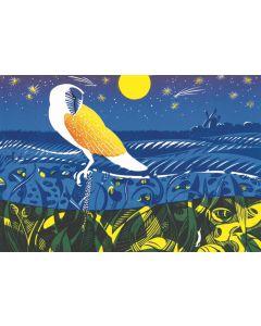 Cley Owl  - Suffolk Wildlife Trust Charity Christmas Cards