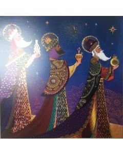 Gold, Frankincense and Myrrh - Cancer Research UK Charity Christmas Cards