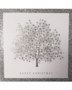 Wintery Tree  - Cancer Research UK Charity Christmas Cards