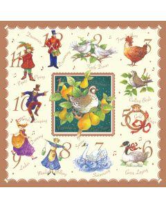 Twelve Days- Diabetes UK Charity Christmas Cards