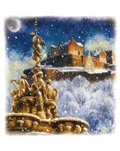 Edinburgh Castle At Christmas
