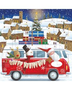 Red Bus Advent Calendar- Daisy`s Dream Charity Christmas Gifts