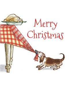 The Dog's Dinner - Epilepsy Action Charity Christmas Cards
