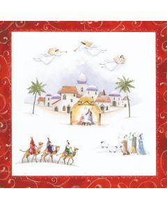 Christmas Nativity - Epilepsy Action Charity Christmas Cards