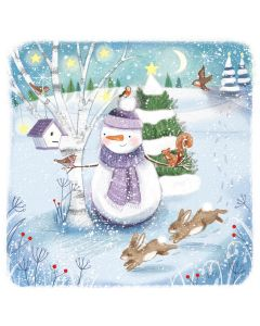 Jolly Snowman - Epilepsy Action Charity Christmas Cards