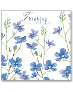 Forget Me Not Thinking Of You Single Card