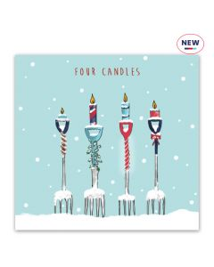 Four Candles - Help For Heroes Charity Christmas Cards