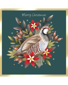 French Partridge - Diabetes UK Charity Christmas Cards