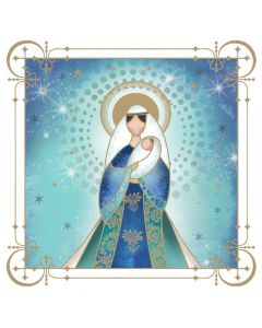 Gentle Madonna - The Children's Society Charity Christmas Cards