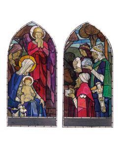 Gold Franincence & Myrrh - The Children's Society Charity Christmas Cards