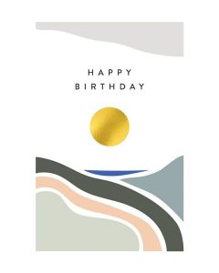 Happy Birthday Balance - Happy Birthday Single Card