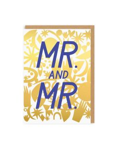Mr & Mr Wedding Single Card