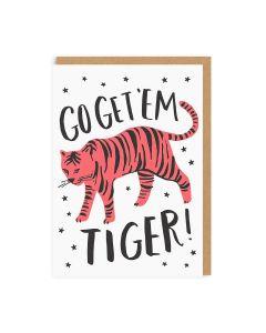 Go Get 'Em Tiger Everday Single Card