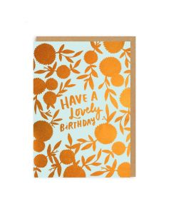 Lovely Birthday Single Card