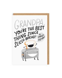 Grandpa Sliced Bread Single Card