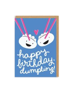 A Couple of Dumplings Birthday Card