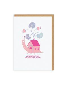 New Home Snail Single Card