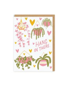 Hang In There Plants Single Card