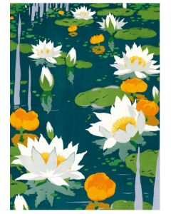 Kew Gardens, Water Lilies Everyday Single Cards