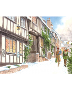 Mermaid Street, Rye - Charity Christmas Cards