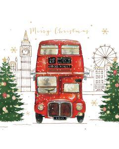 London Bus - Alzheimer's Society Charity Christmas Cards