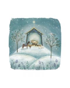 Christmas Story Twin Pack  - Marie Curie Charity Christmas Cards