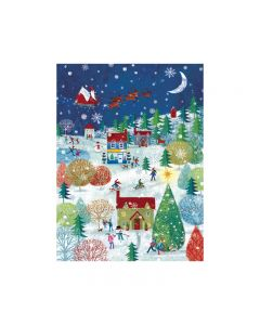 Winter Magic Scene - Marie Curie Charity Christmas Cards