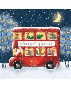 Christmas Bus Ride - Motor Neurone Disease Association Charity Christmas Cards