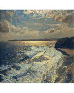 Moonlit Shore Everday Single Card