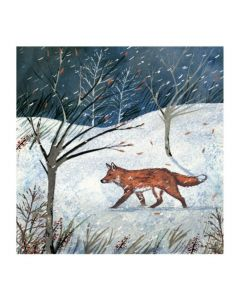 Moonlit Fox  - Cards For Good Causes Charity Christmas Cards