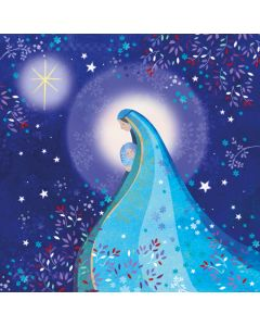Mother and Child  - The Childrens Society Charity Christmas Cards