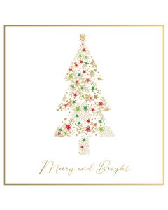 Shimmer Tree - MS Society Charity Christmas Cards