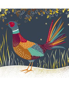 Festive Pheasant - Multiple Sclerosis Trust Charity Christmas Cards
