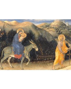 Flight into Egypt - Multiple Sclerosis Trust Charity Christmas Cards