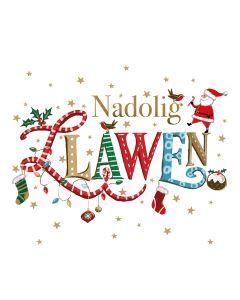 Nadolig Llawen - Alzheimer's Society Charity Christmas Cards