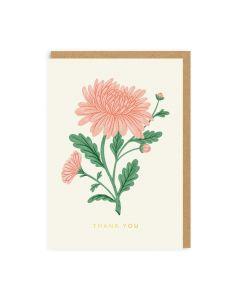 Thank You Rose Single Card