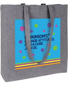 Parkinson's UK Tote Bag - Made From Recycled Cotton And Plastic Bottles - Charity Gift