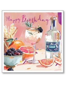 Party Time - Birthday Single Card